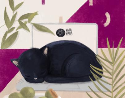 Laptop warmer