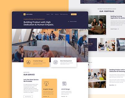 Northurnal Creative Agency Website