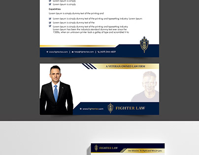 Flyer Design for Lawyer