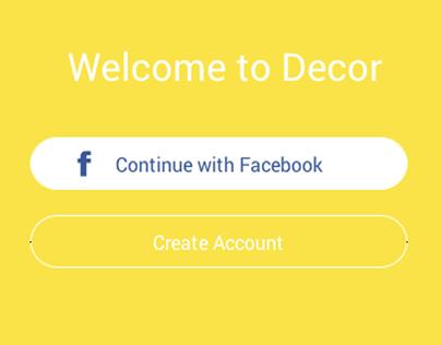Decor - Mobile Project