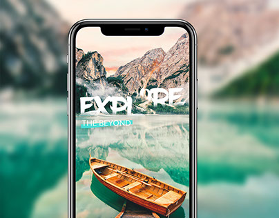 App Concept for discovering extraordinary places