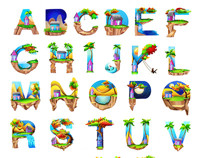 Casitas Dominicanas Alphabet