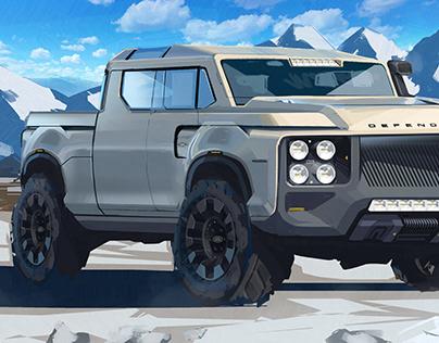 Defender Fullsize Pickup Truck