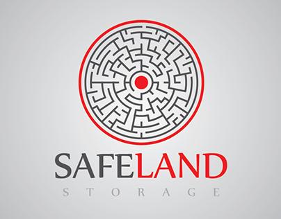 Safe Land Storage   Logo Demo