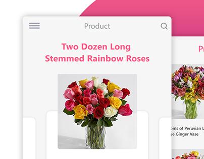 Daily UI - Flower Card