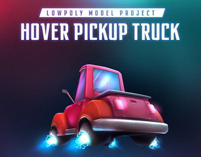 Hover Pickup Truck