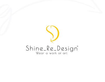 Shine_Re_Design clothing design logo