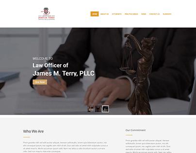 Law Farm Wordpress Website