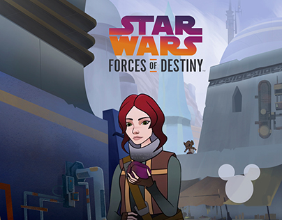 Star Wars - Forces of Destiny Season 2 (BG Artist)