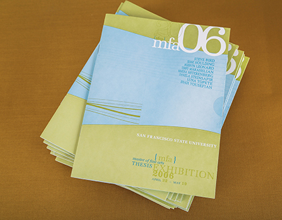 SFSU 2006 MFA Catalog