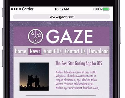 Gaze: The Stargazing App