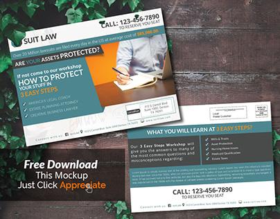 Law Firm EDDM Postcard