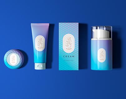 Logo, Products branding, cosmetics