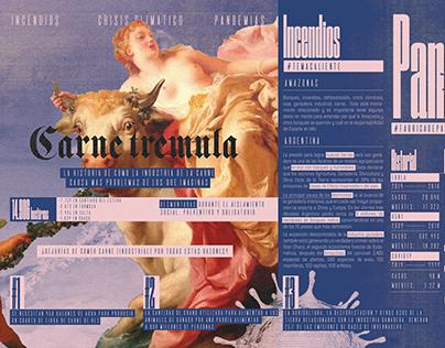 Fanzine digital scrolleable - Catedra Salomone 2020
