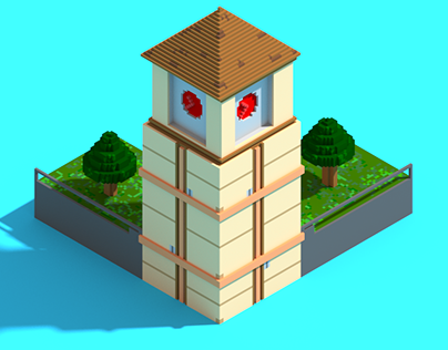 Tower - First VoxelArt