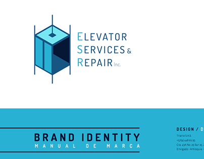 Elevator Services and Repair - Brand Identity