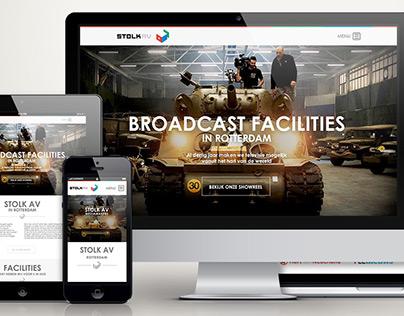 Huisstijl, signing en website voor Stolk AV