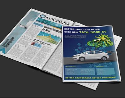 Electric Car Advertisement