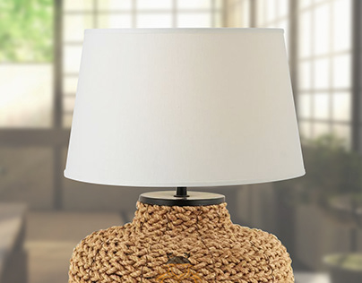 Plaited Rope Lamp