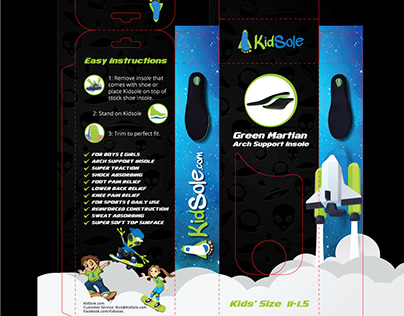 Kidsole Box Packaging Designs Collection
