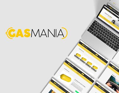 GASMANIA | Website (Prototype)