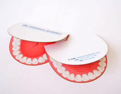 20 Stunning Dentist Business Cards for Your Inspiration