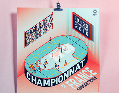 Roller Derby French Championship 2016