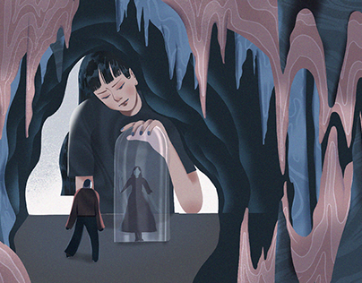 THE ABSURDITY OF WOMEN - Editorial Illustration