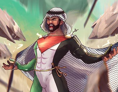 Palestinian Superhero