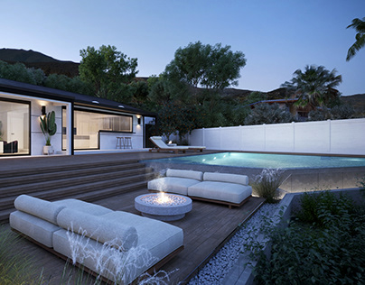 Outdoor space in L.A.