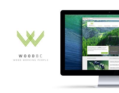 WOOD BC – LOGO & WEBSITE