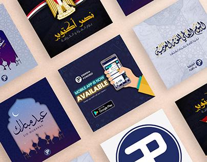 Social Media Designs - EP'21