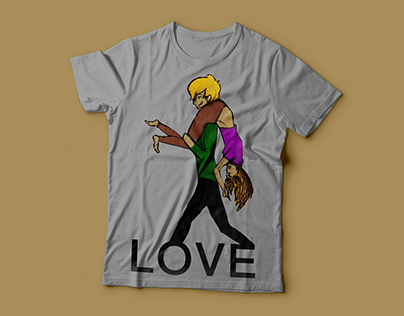 LOVE-Tee Shirt Design