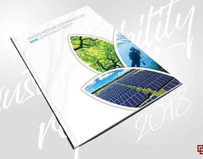 Sustainability Report 2018 Design for Toyota Pakistan.