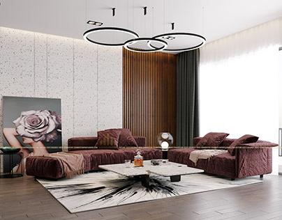 Thiết kế nội thất chung cư D'capitale 03C3 - Anh Hưng
