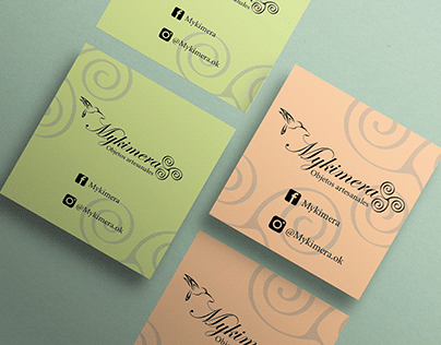 Logo y tarjetas para Mykimera