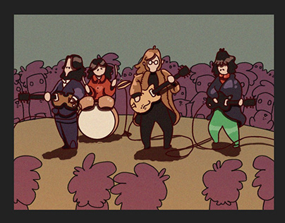 Rock Bands Animated