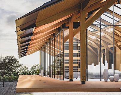 CG Remake of Dujiangfu Architecture Art Museum