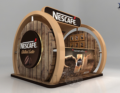 Nescafe Chilled Latte Booth