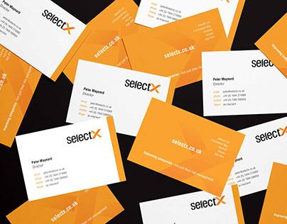 selectX Brand Identity