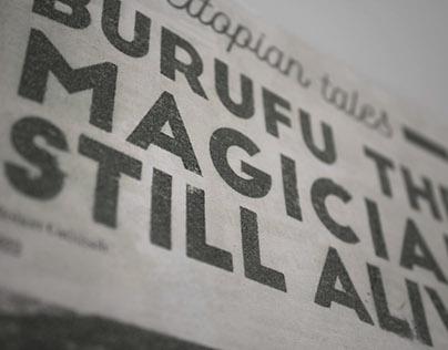 Artist's book - Burufu The Magician