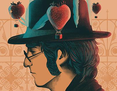 Strawberry Fields Forever / Illustration
