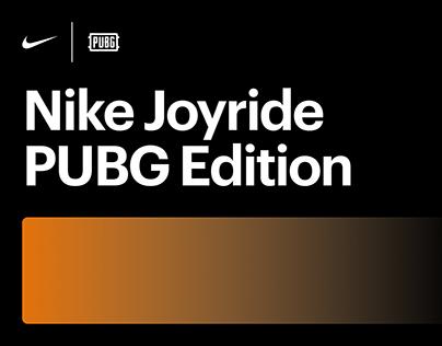 Nike Joyride PUBG Edition / 2019 Concept