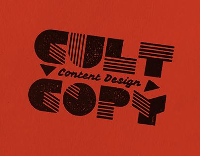 Cult Copy Content Design
