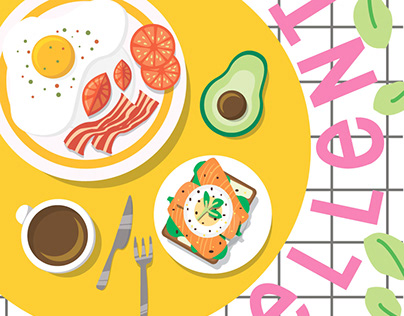 breakfast invite card