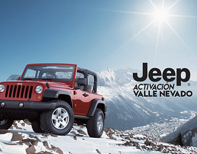 2018/ Activación Jeep- Valle Nevado