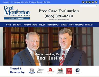 Lawyer Website Redesign