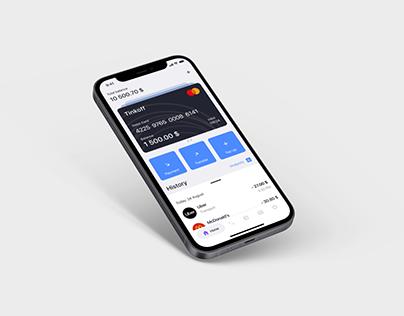 Bank Wallet App