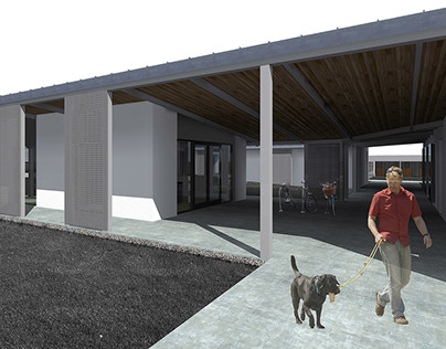 Animal Shelter Concept, BA Graduation Project