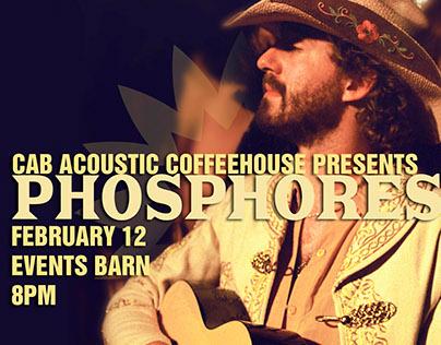 CAB Acoustic Coffeehouse - Phosphorescent